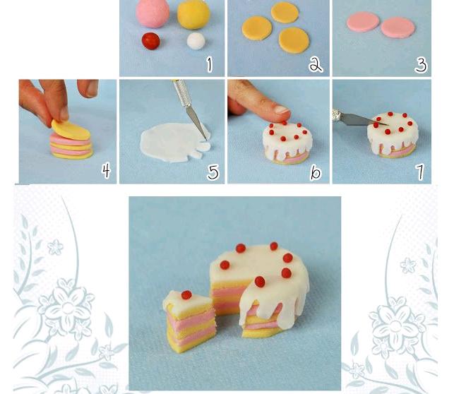 Фигурки из мастики для торта своими руками фото