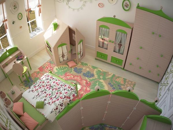 интерьер детской комнаты (600x450, 234Kb)