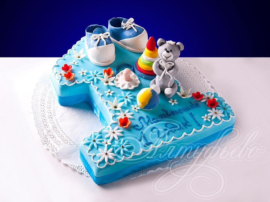 Фото тортиков ребенку на годик