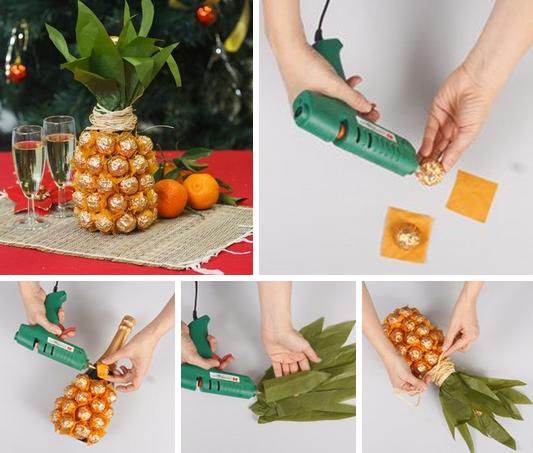 Как сделать конфету из бутылки своими руками