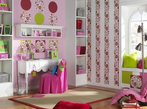 дизайн детской для девочки фото 1 (500x370, 145Kb)