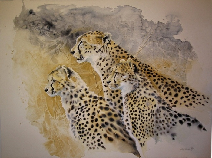 дикая пирода африки Karen Laurence-Rowe 2 (700x522, 240Kb)