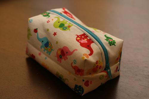 Косметичка своими руками из ткани мастер класс