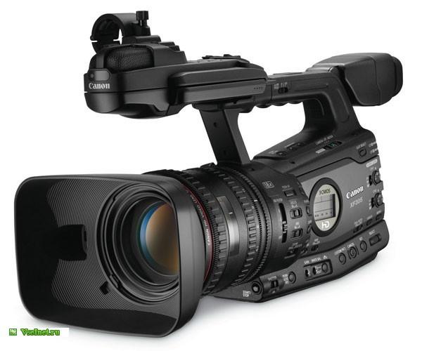 Видеокамера Canon XF305 чёрная (600x500, 51Kb)