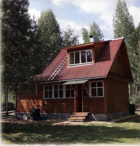 Дачный домик недорого своими руками фото