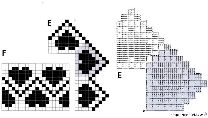 الكروشيه.  الدانتيل والحدود (2) (700x396، 151KB)