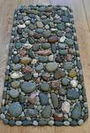 Как сделать коврик из морских камней своими руками