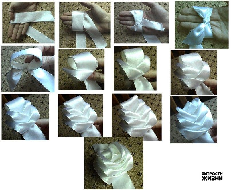 Изделия из ленточек своими руками