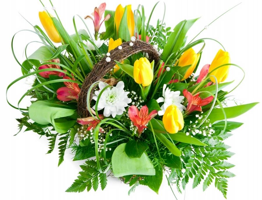 Цветы тюльпаны фото букеты 7