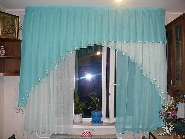 Как сшить шторы тюль своими руками