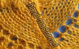 Учимся вязать образец ландышей, а подробнее на сайте.  Ландыши, связанные спицами отлично смотрятся в ажурной...