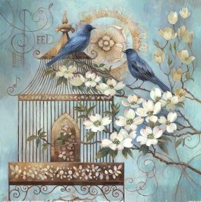 blue-birds-and-dogwood-by-elaine-vollherbst-lane-719064 (400x402, 126Kb)