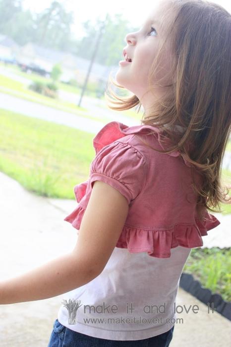 болеро для девочки из футболки (3) (466x700, 201Kb)
