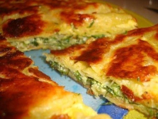 Рецепт пирог из лаваша с сыром в духовке рецепт с пошагово