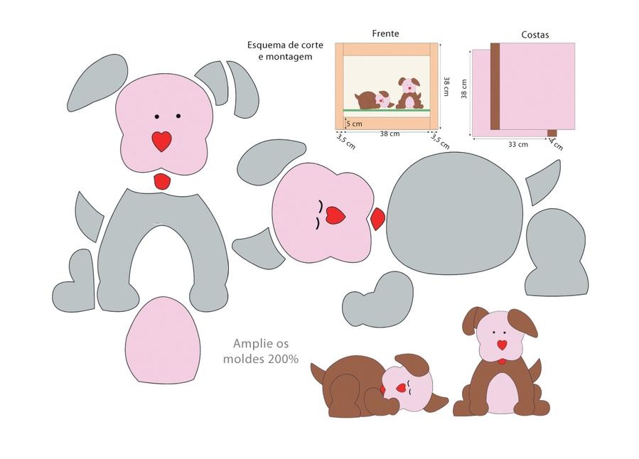 Аппликации из ткани своими руками схемы шаблоны для детей 1094