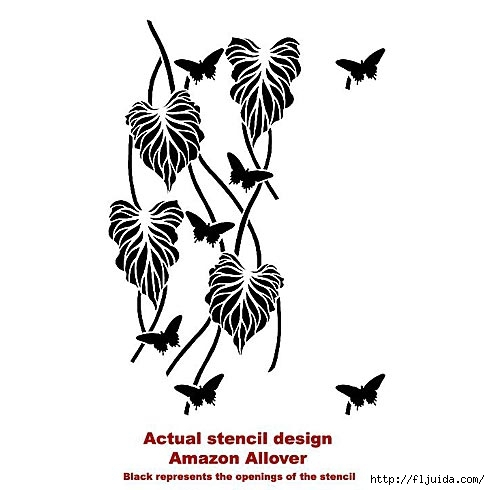 Leaf-stencil-damask_1 (490x490, 83Kb)