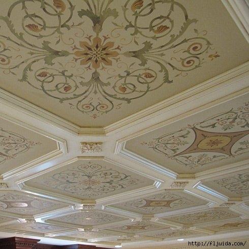 coffers-ceiling-DIY-inlay-stencil (1) (490x490, 136Kb)