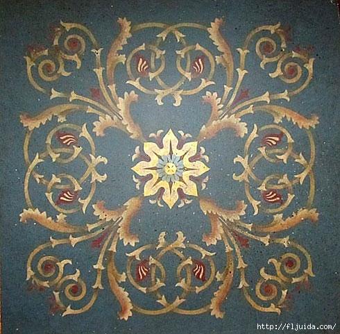 COffer-stencil-acanthus (490x481, 198Kb)