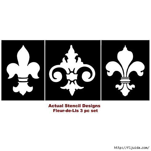 Fler_De_Lys_stencils (490x490, 52Kb)