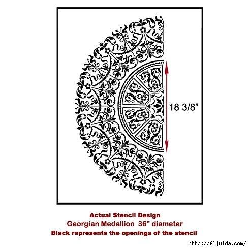 Georgian-Medallion-stencil-design (490x490, 109Kb)
