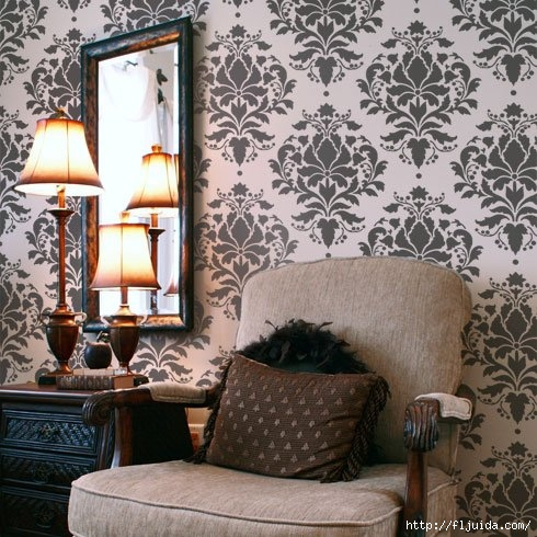 Damask-stencil-wallpaper_4 (490x490, 195Kb)