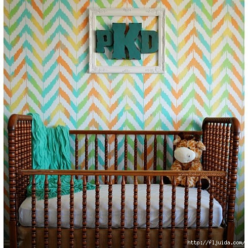 Ikat-Zig-Zag-Stencil-Nursery-Room-Idea (490x490, 199Kb)
