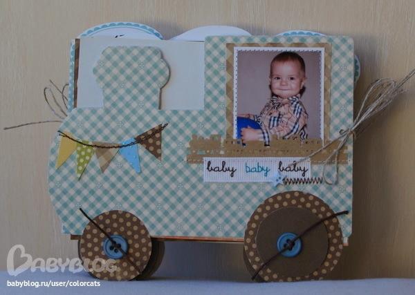 Фотоальбом для ребенка подробно