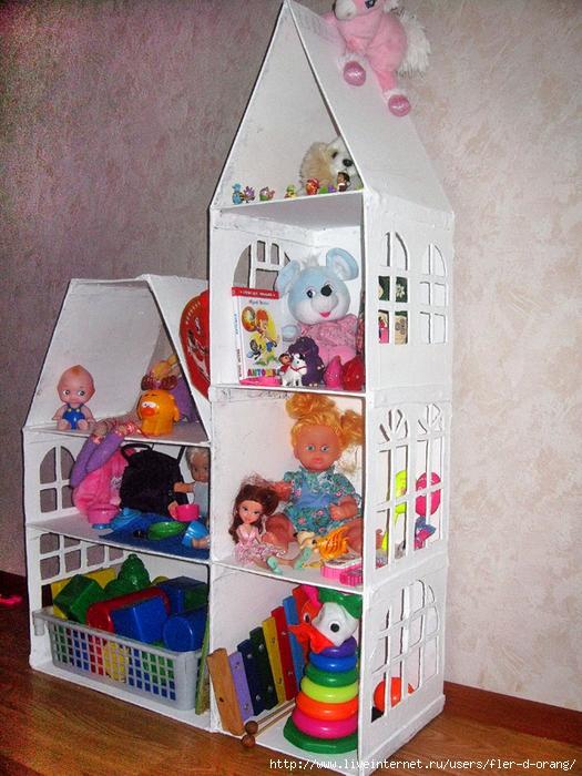 Как сделать кукольный дом в домашних условиях
