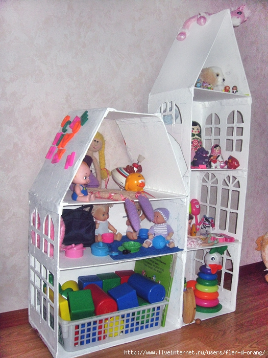 Кукольного домика из материала своими руками