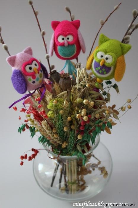 Валяние. Самые замечательные игрушки от польской мастерицы Goshia (23) (466x700, 224Kb)