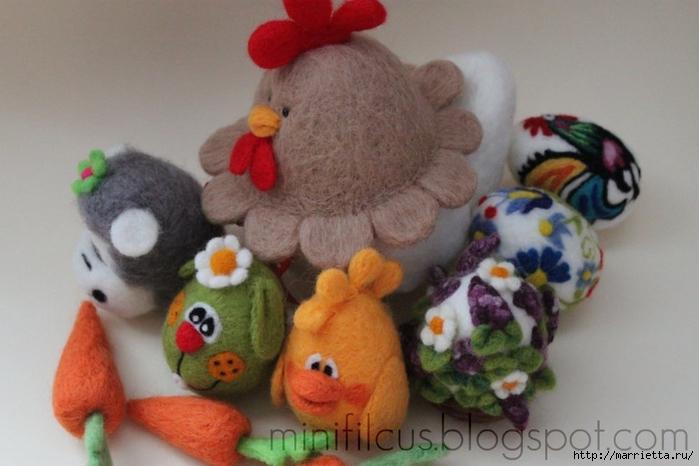 Валяние. Самые замечательные игрушки от польской мастерицы Goshia (39) (700x466, 205Kb)