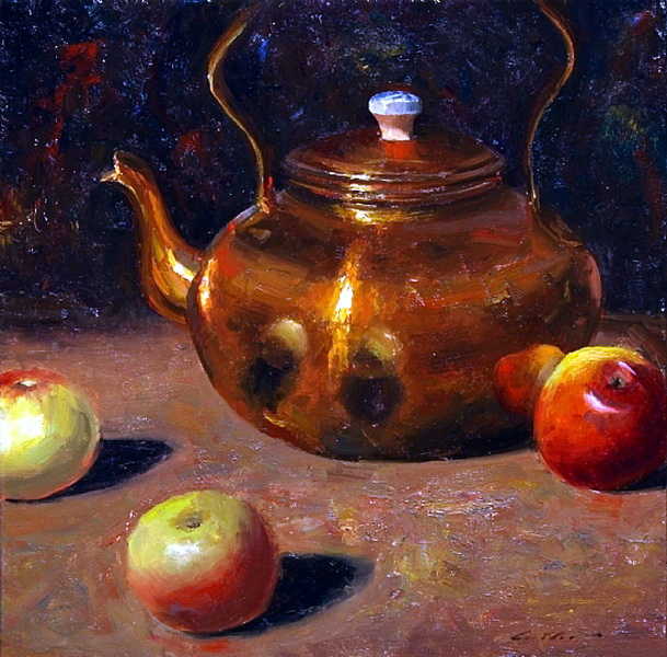 apples-and-copper-teapot (609x600, 427Kb)
