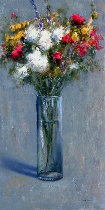 flowers-and-vase (350x700, 259Kb)