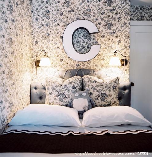 Спальни - Схемы мебели в спальне.  Фотогалерея модных интерьеров.