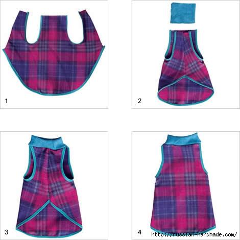 Шьем одежку для собачки. Выкройка (2) (470x470, 77Kb)