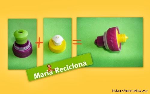 Декоративная птичья клетка из шашлычных палочек и крышек от конфетных коробок (2) (500x313, 61Kb)