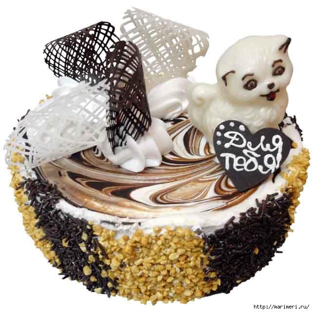 Шоколадный фигурки на торт