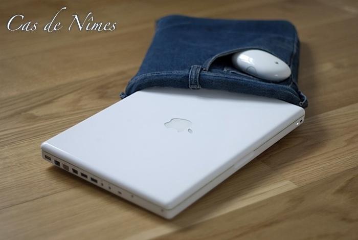 Чехол для нетбука из старых джинсов. Фото идея (1) (700x469, 149Kb)