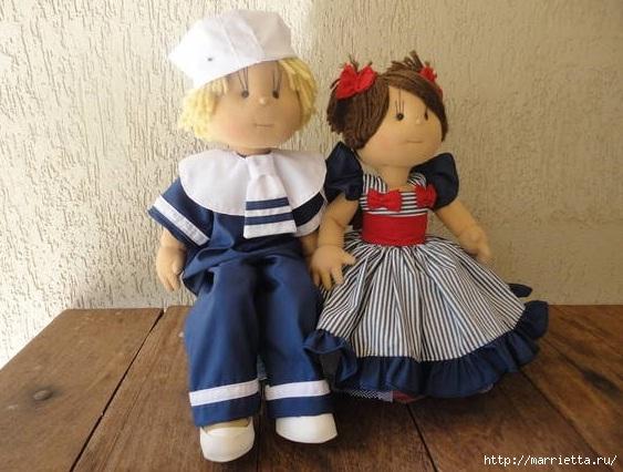 Замечательные куколки из капрона. Идеи и выкройки (1) (563x426, 170Kb)