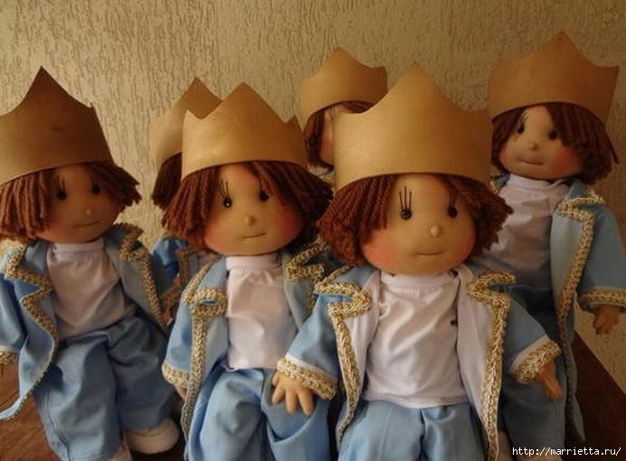 Замечательные куколки из капрона. Идеи и выкройки (7) (692x510, 202Kb)