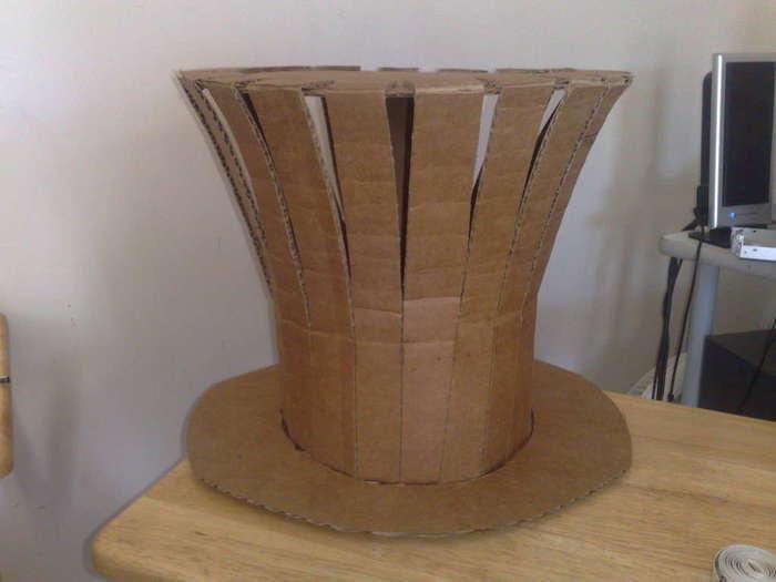 Шляпа как у шляпника своими руками 82