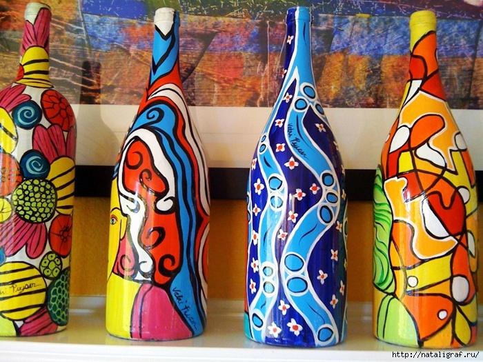 Разукрашиваем вазу своими руками