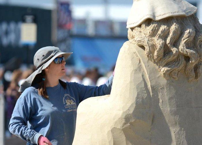 скульптуры из песка фото 7 (700x503, 239Kb)