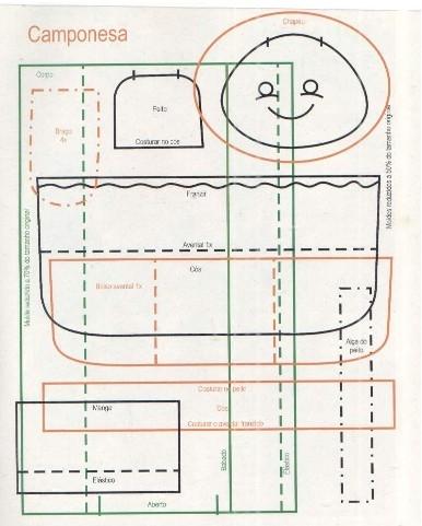 сшить куклу. журнал с выкройками (16) (386x481, 111Kb)