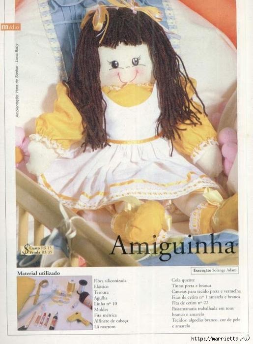 сшить куклу. журнал с выкройками (34) (515x700, 255Kb)