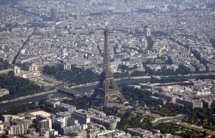 париж фото с высоты (700x449, 389Kb)