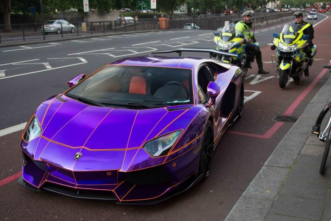 Lamborghini наследника катара арестована фото (680x453, 297Kb)