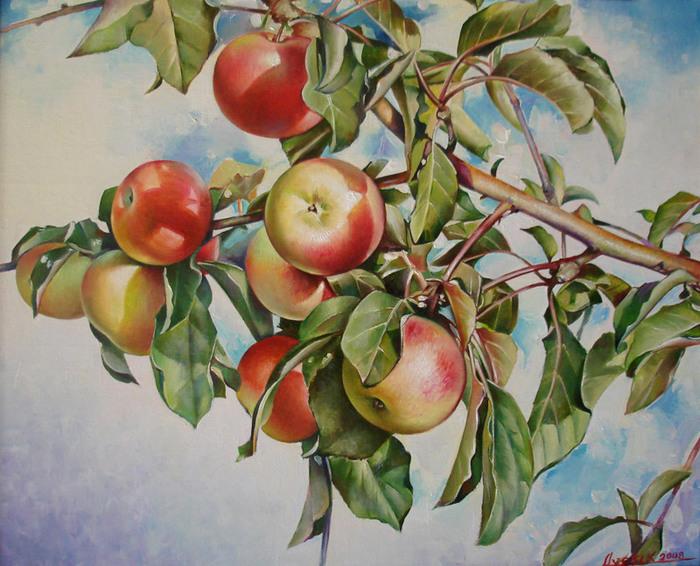 Яблоки (700x566, 156Kb)