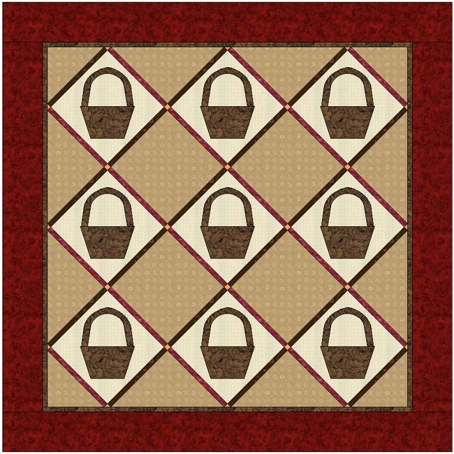Схемы блоков лоскутного шитья.