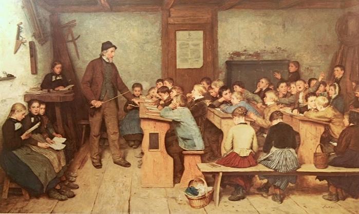 Albert_Anker_1831_1910_Die_Dorfschule_1896 (700x417, 226Kb)